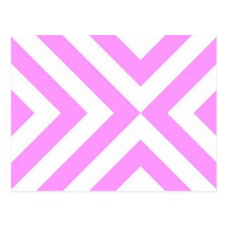 Galones rosados y blancos postales