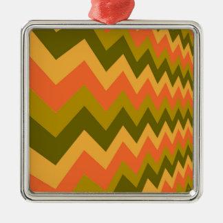 Galones sabios de la cerámica adorno navideño cuadrado de metal