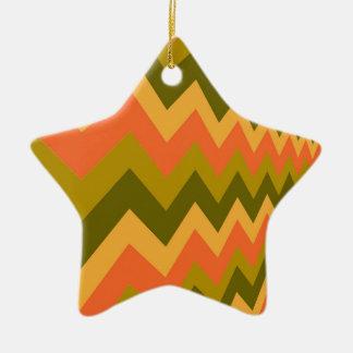 Galones sabios de la cerámica adorno navideño de cerámica en forma de estrella