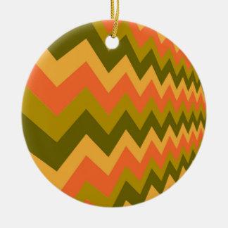 Galones sabios de la cerámica adorno navideño redondo de cerámica