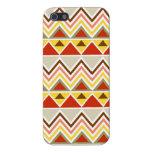 Galones tribales aztecas de los triángulos de las  iPhone 5 fundas