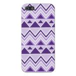 Galones tribales aztecas de los triángulos de las  iPhone 5 protectores