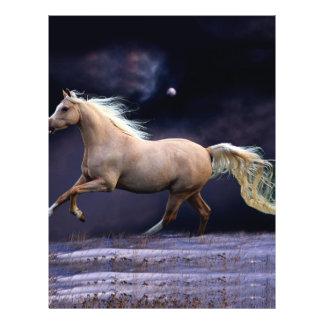 """galope del caballo folleto 8.5"""" x 11"""""""