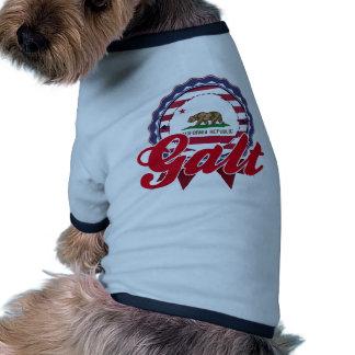 Galt, CA Camisa De Mascota