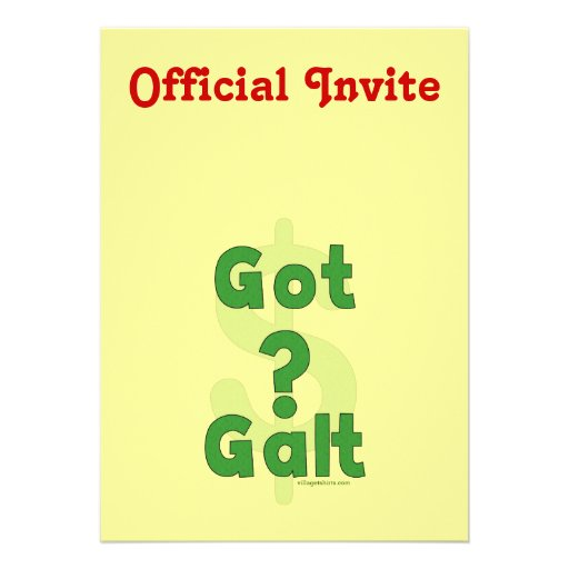 Galt conseguido comunicado personalizado
