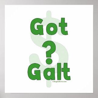 Galt conseguido póster