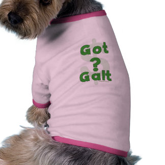 Galt conseguido ropa de mascota