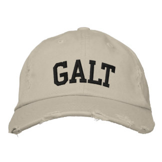 Galt Embroidered Hat Embroidered Hats