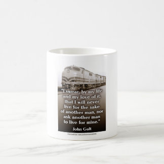 Galt Quote Classic White Coffee Mug