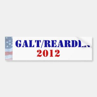 Galt/Rearden President 2012 Bumper Sticker