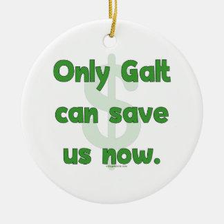 Galt Save Us Ceramic Ornament
