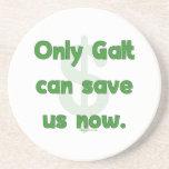 Galt Save Us Drink Coaster