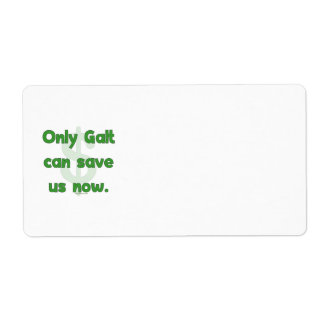 Galt Save Us Label