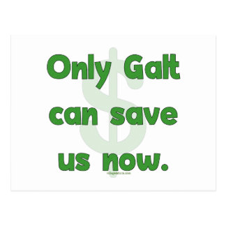 Galt Save Us Postcard