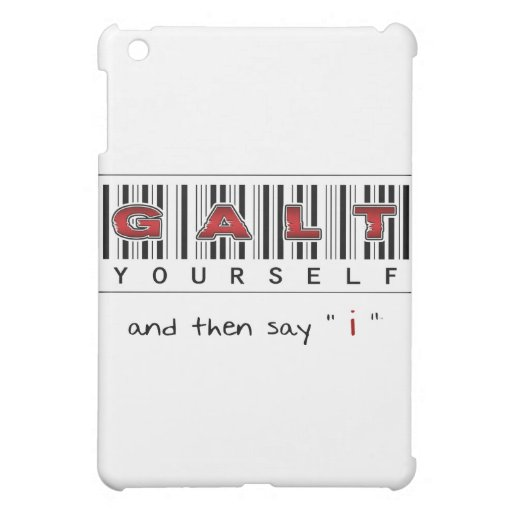 GALT YOURSELF logo iPad Mini Cases