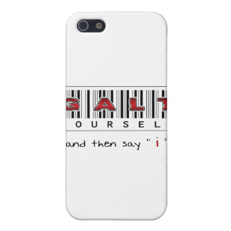 GALT YOURSELF logo iPhone 5 Cover