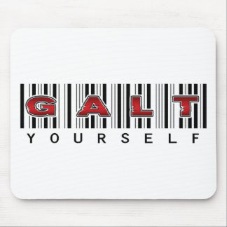 GALT YOURSELF logo Mouse Pad
