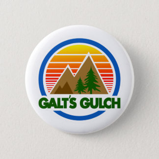 Galt's Gulch Atlas Shrugged Button