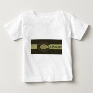 Galt's Gulch - Gray and Gold Combo Design Baby T-Shirt