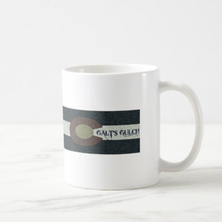 Galt's Gulch - Red White and Blue Combo Design Coffee Mug