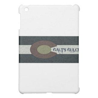 Galt's Gulch - Red White and Blue Combo Design iPad Mini Case