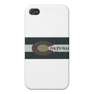 Galt's Gulch - Red White and Blue Combo Design iPhone 4/4S Cases
