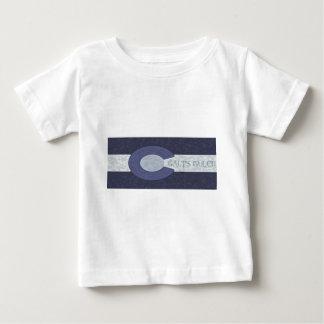Galt's Gulch - Steel Blue Combo Design Baby T-Shirt