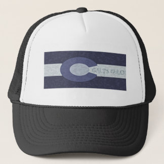 Galt's Gulch - Steel Blue Combo Design Trucker Hat