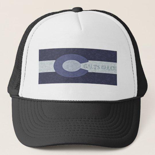 Galt's Gulch - Steel Blue Combo Design Trucker Hat