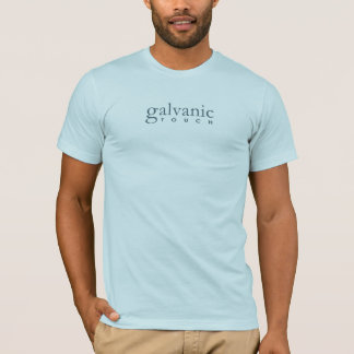 Galvanic Touch -Text Front Symbol Back (GVT Blue) T-Shirt