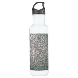 Galvanised Steel Plate Texture Stainless Steel Water Bottle