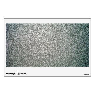 Galvanised Steel Plate Texture Wall Sticker