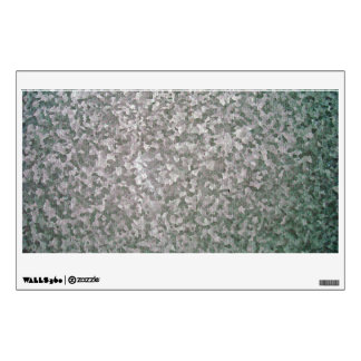 Galvanised Steel Plate Texture Wall Sticker