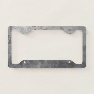 Galvanized Metal Look License Plate Frame