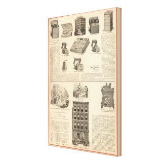 Galvano Faradic Manufacturing Company Bickford Impresión De Lienzo