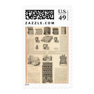 Galvano Faradic Manufacturing Company Bickford Stamps