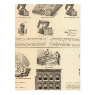 Galvano Faradic Manufacturing Company Bickford Postcard