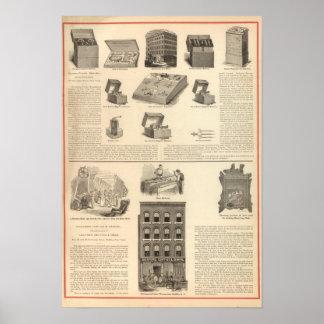 Galvano Faradic Manufacturing Company Bickford Print