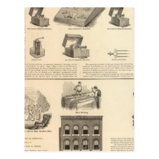 Galvano Faradic Manufacturing Company Bickford Tarjetas Postales