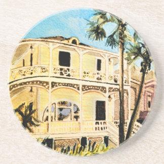 Galveston1899 Conness-Arnold Historical Home Drink Coaster