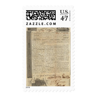 Galveston Bay and Texas Land Company Postage Stamp