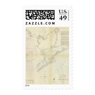 Galveston Bay, Texas Postage Stamp