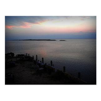 Galveston Bay Texas Postcard