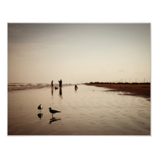 Galveston Beachlife Photo Print