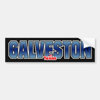 Galveston Bumper Bumper Sticker