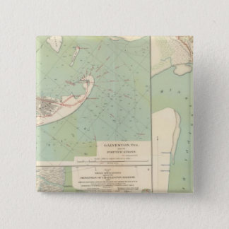Galveston, Charleston Harbor, Port Hudson Button