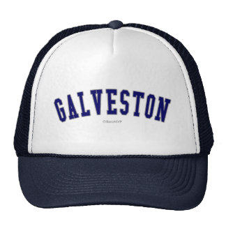 Galveston Gorras De Camionero