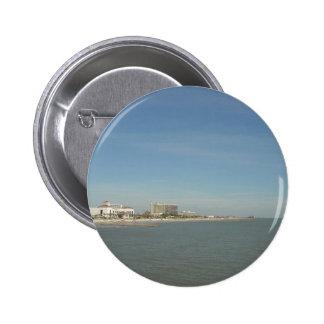 Galveston Island, Texas Pinback Button