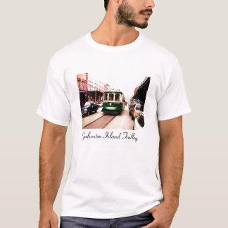 Galveston Island Trolley T shirt