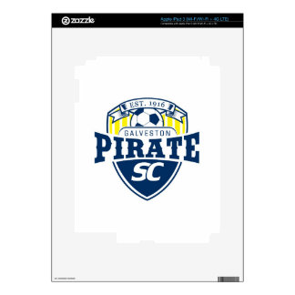 Galveston Pirate Soccer Club Decal For iPad 3